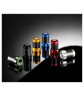 Bouchons de valve carbone/aluminium (Presta)