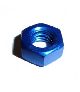 Ecrou bleu M6