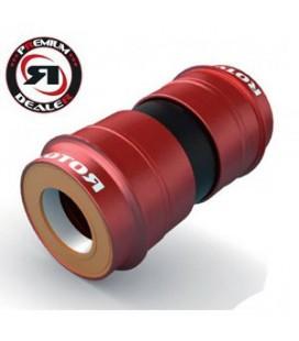 Boitier de pédalier Rotor Pressfit 46-24 (BBright céramique)