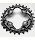 Absolute Black Round chainring (PCD64)
