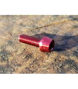Titanium bolt M5x16 (Red Edition)