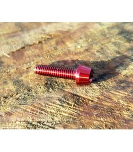 Titanium bolt M4x18 (Red Edition)