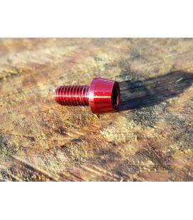 Titanium bolt M5x10 (Red Edition)