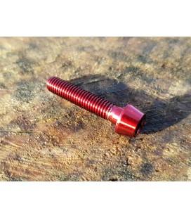 Titanium bolt M5x25 (Red Edition)
