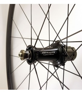Extralite CarboClimb A25T wheels