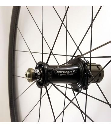 Extralite CarboClimb A25T wheels