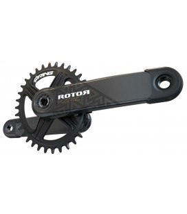 Rotor Kapic Carbon Boost crankset (round chainring)