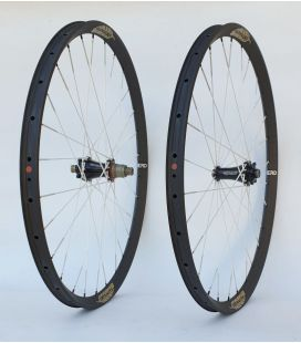 Extralite CarboCamber2 BERD wheels