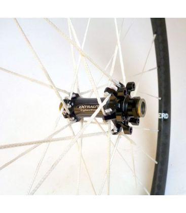 Extralite CyberDisc 338T BERD wheels (tubular)