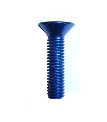 Vis conique bleue M5x20